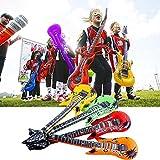 4Pcs Fruit Guitar Toys,Mamum 4Pcs 55cm Inflatable Air Guitar Accessories For Party Kids Party Decor Toy