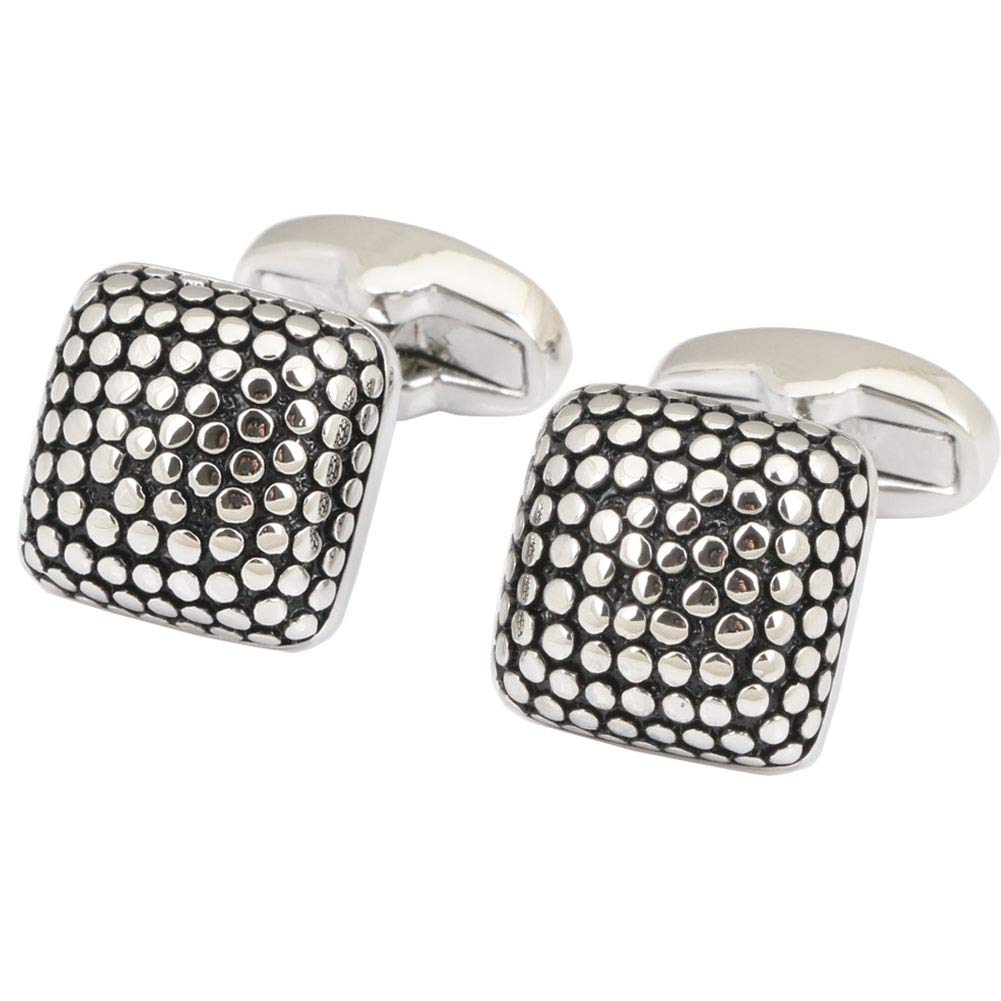 Dannyshi Men's Classic Cufflinks Shirts Business Wedding Jewelry (Style 5)