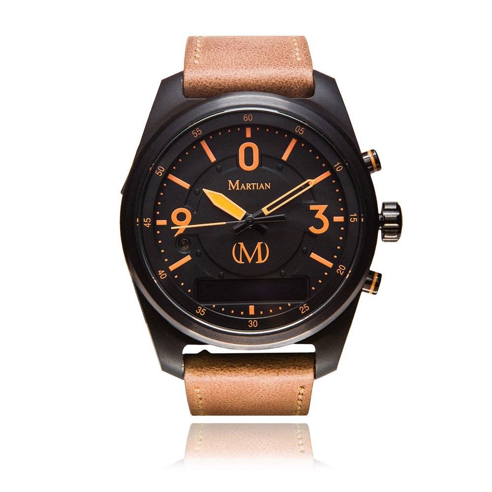 Martian mVoice Smartwatches with Amazon Alexa – Analog + Voice (B01M4J2613)