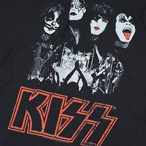 KISS Rock Gene Simmons Band Members Stage T Shirt & Exlcusive Stickers (Medium) by Popfunk (Image #5)