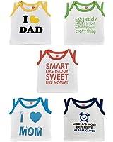 Orange and Orchid Kids' Cotton T-Shirt