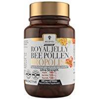 BEE and You Royal Jelly Propolis Bee Pollen Tablets