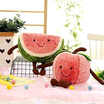 Almohadas de Frutas y Verduras, sandías Suaves, Peluches ...