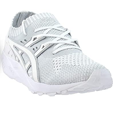 detailed look 26e45 f5e48 ASICS Tiger Men's Gel-Kayano Trainer Knit Glacier Grey/White 10.5 D US