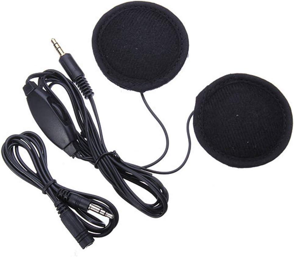 Myriad Choices - Altavoces de 3,5 mm para Casco de Moto, para MP3 ...