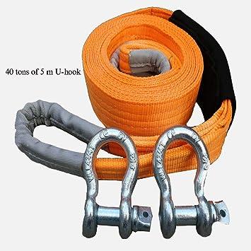 Amazon.es: Cuerdas para remolque Cuerda de remolque de 5 ...