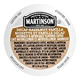 Martinson Single Serve Coffee Capsules, Hazelnut Vanilla Decaf, 24 Count