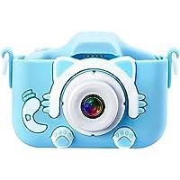 Kindercamera Digitale camera voor kinderen, mini-cartooncamera 1080P HD-videorecorder 32 GB SD-kaart / 2 inch IPS-scherm…
