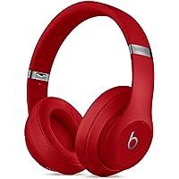 Beats Studio3 Wireless 录音师无线3代 头戴式 蓝牙无线降噪耳机 游戏耳机 - 红色 带麦克风可通话 MQD02PA/A