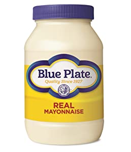 Blue Plate Real Mayonnaise, 30 Ounce Jar