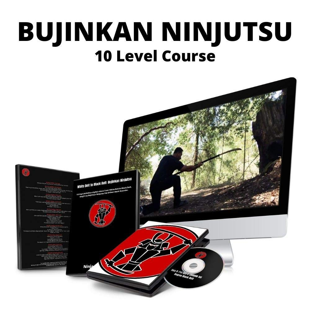 Ninjutsu Black Belt Course - SHODAN 1ST Degree Bujinkan Budo Taijutsu - Developed by 15th Dan Practitioner (Dai Shihan) Mark Roemke