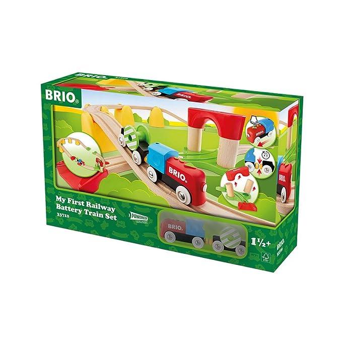 Spielzeug Holzspielzeug Brio Doppelhängebrücke Baby/Kleinkind/Kind Holzspielzeug Eisenbahnschienen Neu