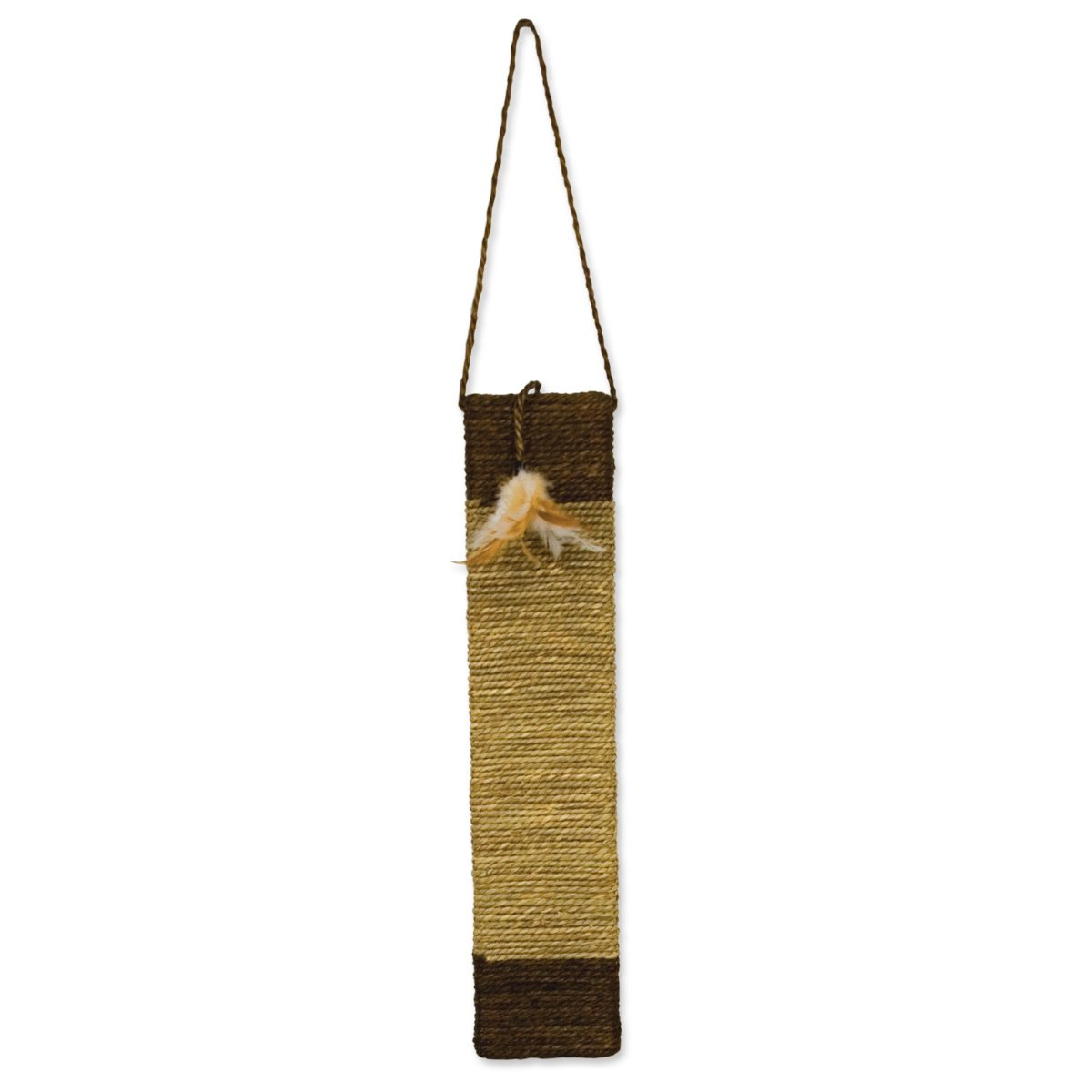 Ware Manufacturing Sisal and Seagrass Cat Door Scratch Post
