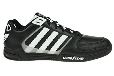 Schwarz Herren Schuhe Leder Adidas Goodyear Rl Driver vf76ygYb