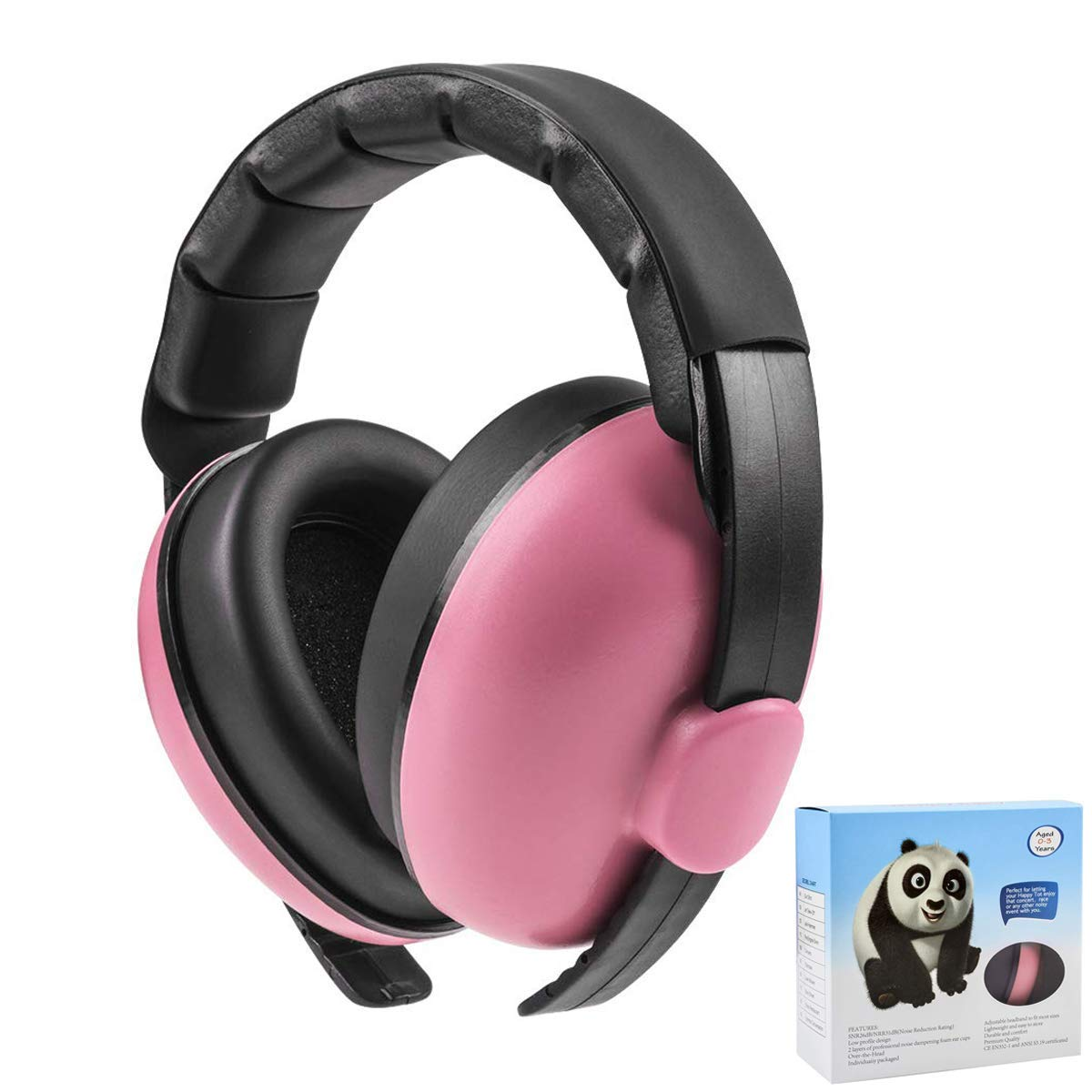 Firework Concerts for Babies Sleeping Airplane Ear Protection Earmuffs Noise Reduction for 0-3 Years Kids//Toddlers//Infant Movie Theater Mint Green Baby Noise Cancelling Headphones