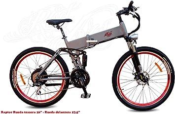 MTB eBike Pedelec Bicicleta Eléctrica de Montaña Plegable Doble ...
