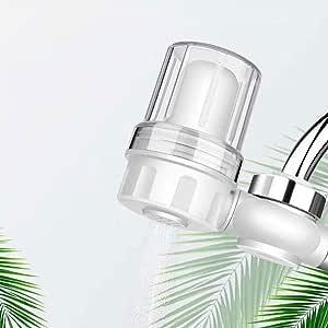YDBET Grifo del Filtro purificador de Agua Transparente Visible Multicapa Compuesto de Filtro Filtro de cerámica de Piedra Cocina Hogar Quitar Cloro Residual y sedimentos: Amazon.es: Hogar