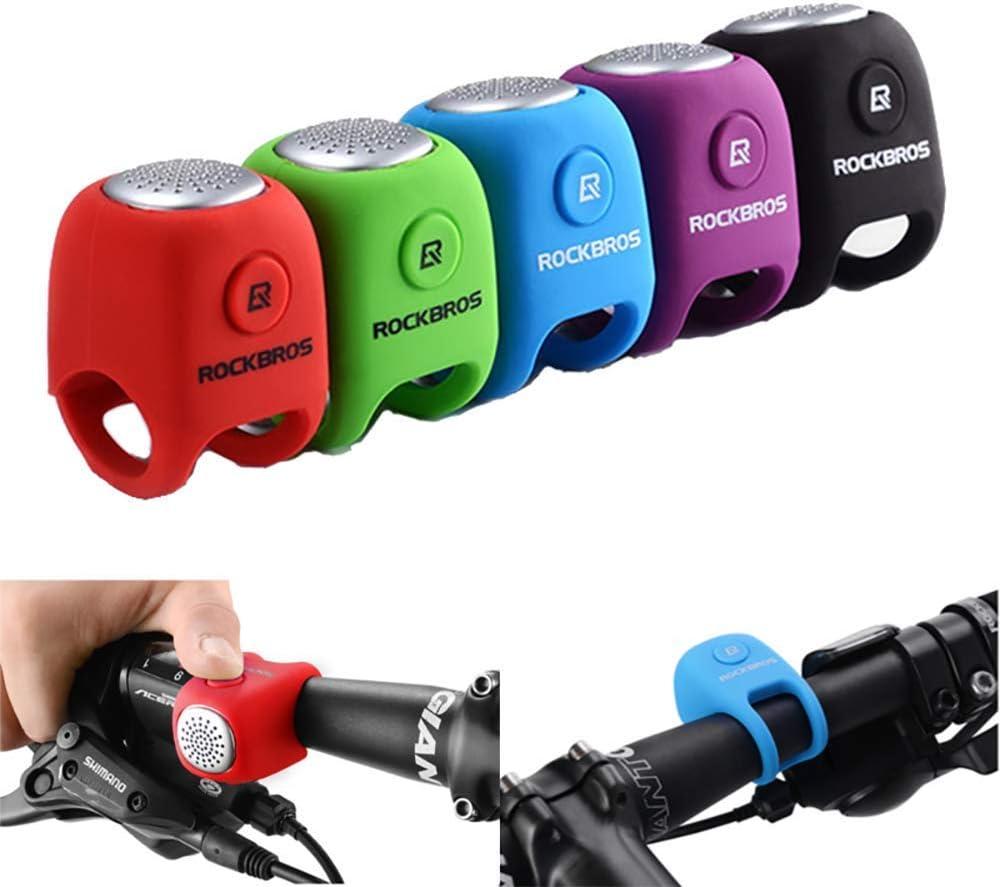 Riloer Cycling Bells Rainproof Mountain Bike Horn Loud Sound MTB Road Bike Bell