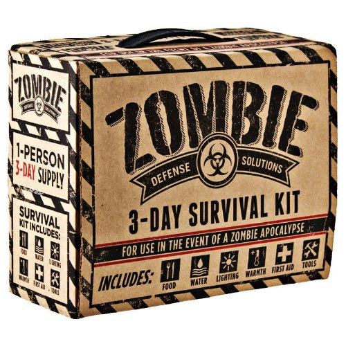 Zombie Defense Solutions 3 Day Survival Kit, -