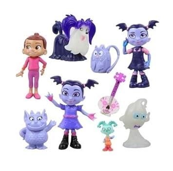 Vampirina Hauntley Playset 9 Figure Cake Topper Toy Doll Set Amazon