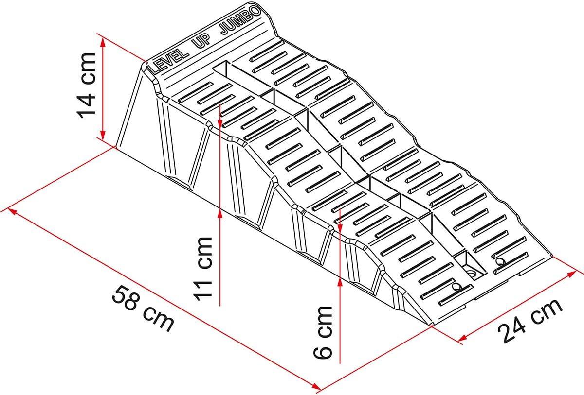 10430.40 Fiamma coppia Level Up Premium camper level bag custodia PP