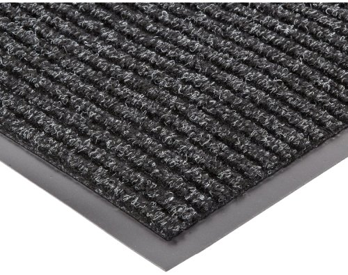 NoTrax 117 Heritage Rib Entrance Mat, for Lobbies and Indoor Entranceways, 4' Width x 8' Length x 3/8