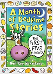 A Month of Bedtime Stories: the First Five Stories (and off you went to the woods)