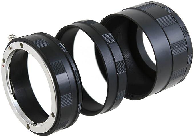 Zeikos - Enfoque Manual Tubo de extensión Set para cámaras réflex ...