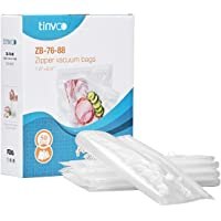 TINVOO Vacuum Sealer Bags Commercial Grade BPA Free/FDA Approved Food Saver Bags Rolls for Food Preservation and Sous Vide