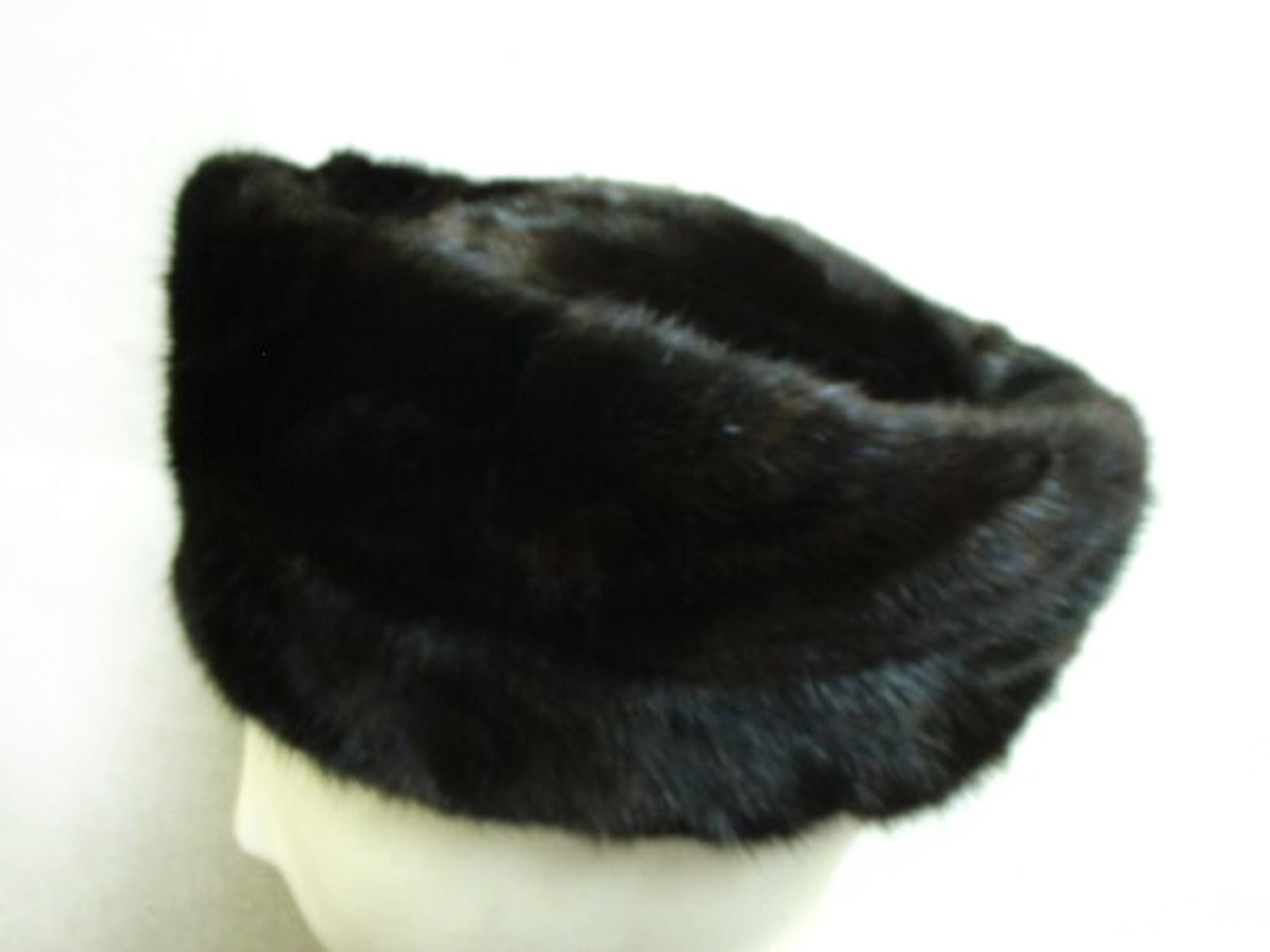 Ranch Mink Sections Telescoped Toque S 22''