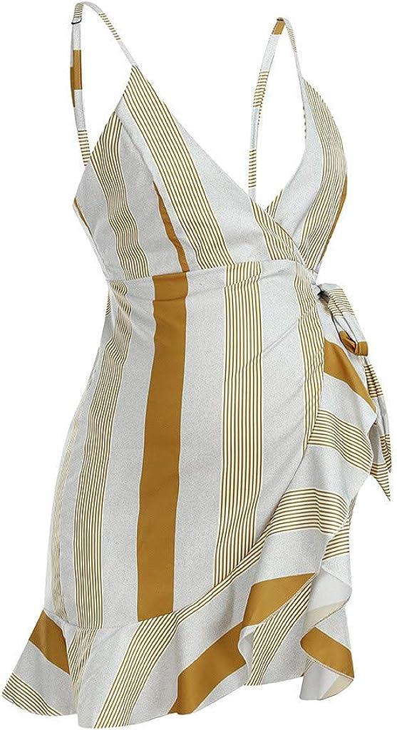 Amoyl Damen Umstands Mutterschaft /Ärmellose Krankenpflege Weste Kleid Strandkleid Stillkleid Minikleid Sommerkleid