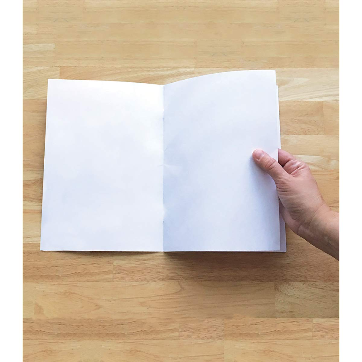 Rectangle Blank Book for Young Authors, Grades K - 3