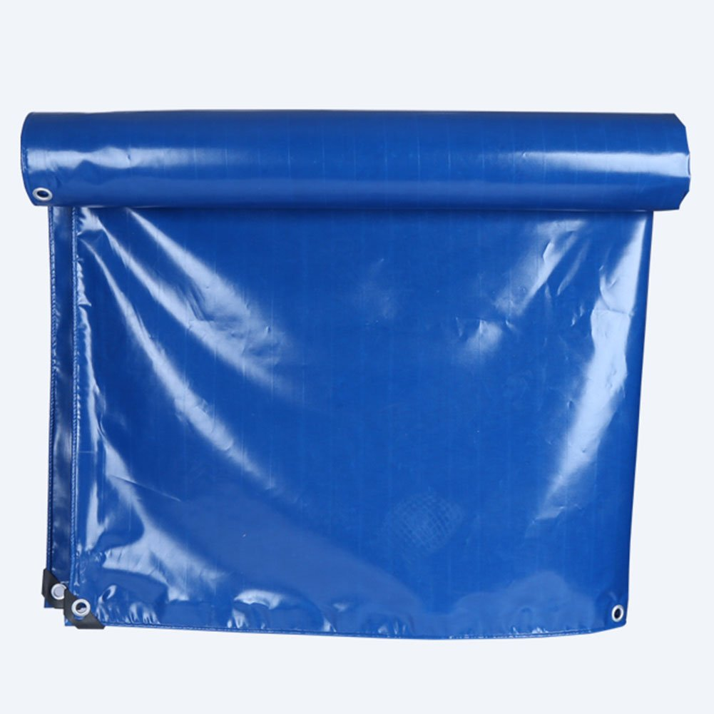 QX pengbu IAIZI Blaue Mono Cover PVC Plane Verschiedene Größen - Verstärkter Saum + Ösen