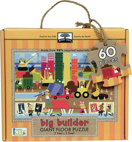 Innovative Kids Green Start Giant Floor Big Builder Puzzles (60 Piece) by Innovative Kids
