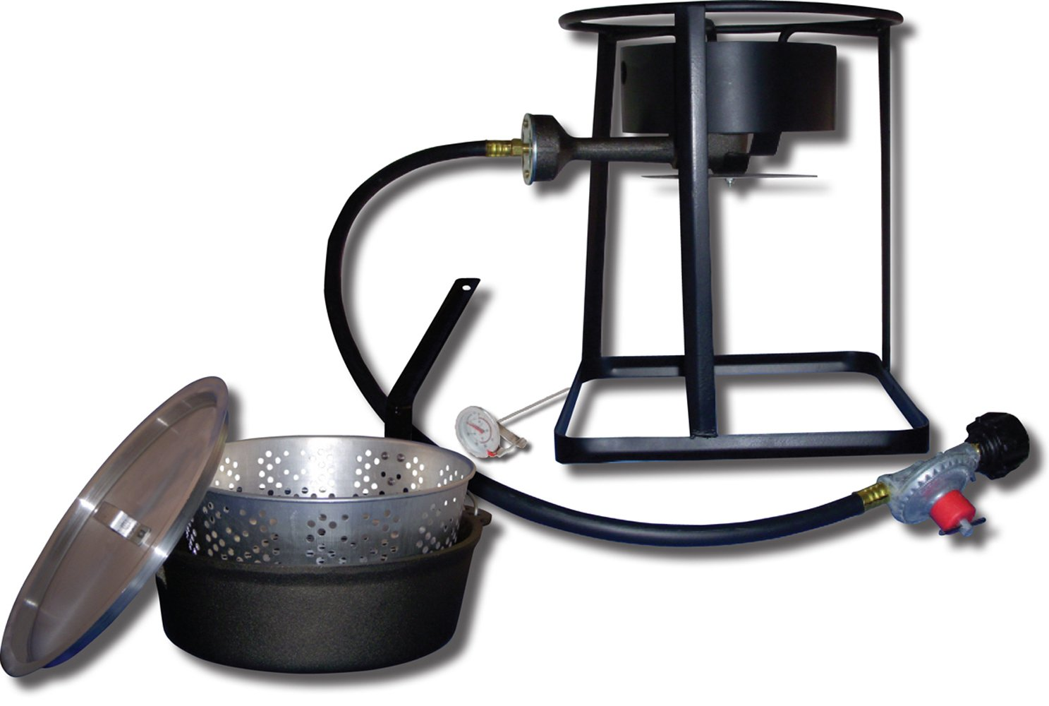 King Kooker 1650 16-Inch Outdoor Propane Burner with Cast Iron Dutch Oven by King Kooker
