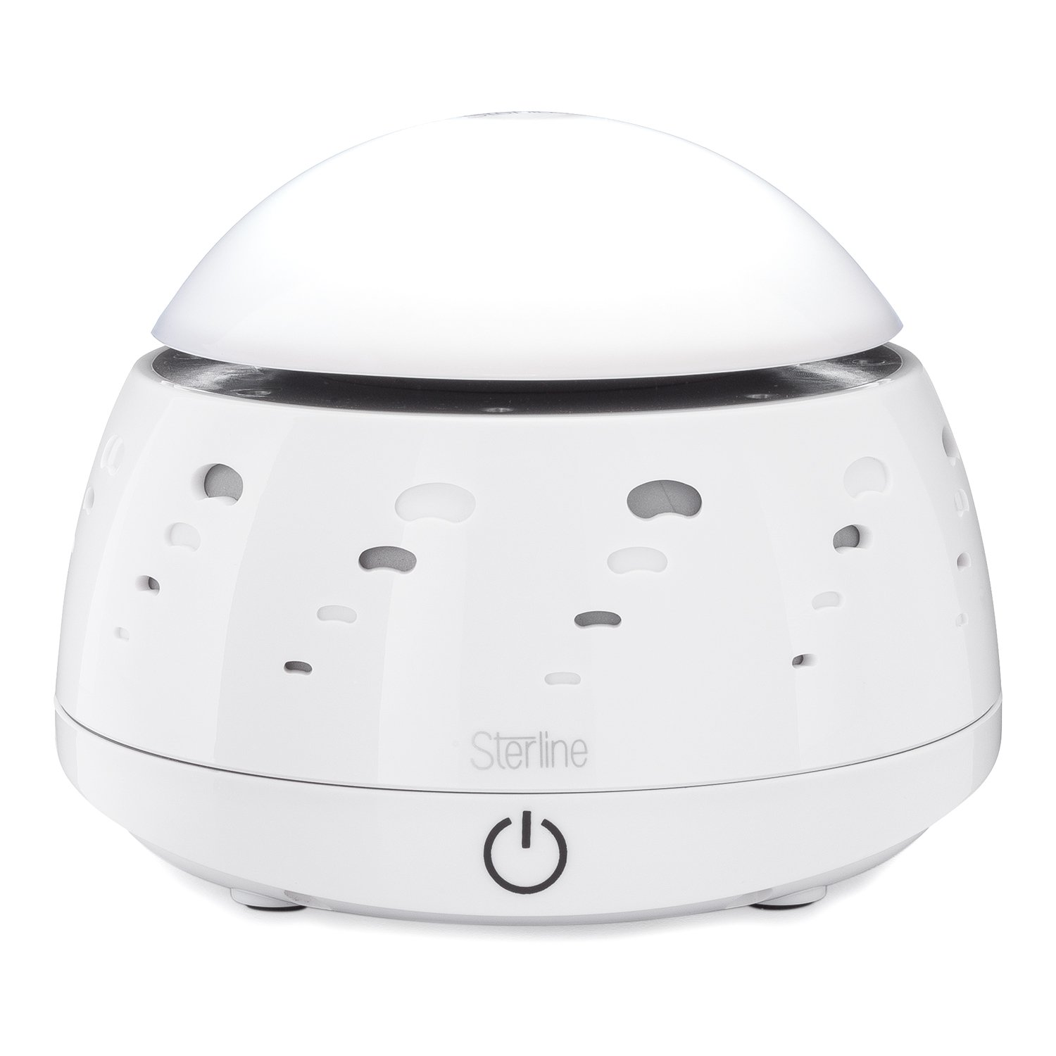 Sterline Electronic Natural Sound Machine with Night Light, White Noise Machine for Studying Work and Sleep, Sound Maker for Soothing Background Noise Reduction, White