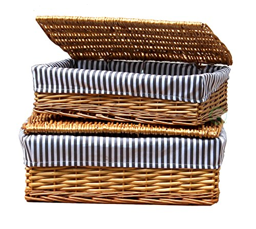 Vintiquewise Lined Storage Baskets Lid product image