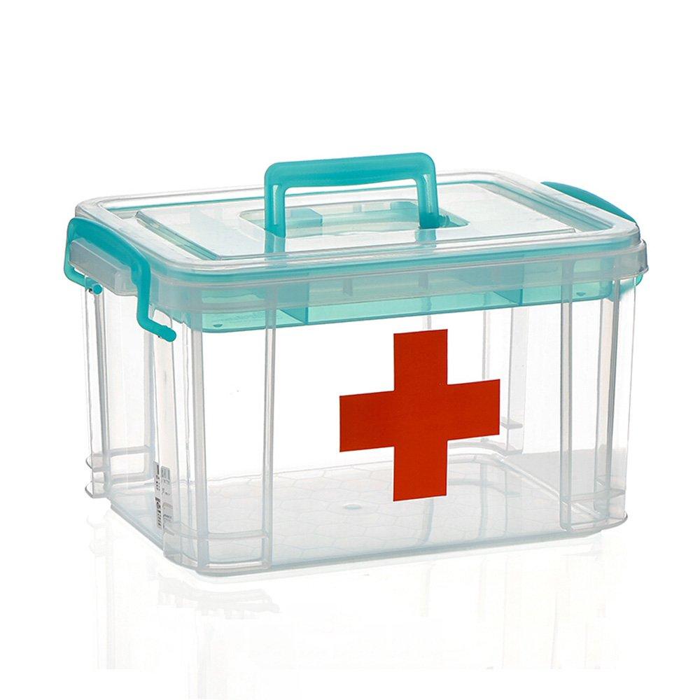 Wangmy Kunststoff-Kit für die Haus-Küche Multifunktions-Kit für die Haus-Küche Pro Medicina Cassetta Pro Medicina Blu 8L / 16L (Kapazität : 16L)