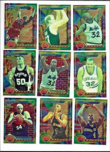 1993-94 Topps Finest Basketball Complete 220 Card Set Chris Webber Rookie -