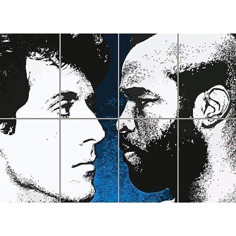 Amazon.com: Rocky Balboa VS Clubber Lang gigante imagen de ...
