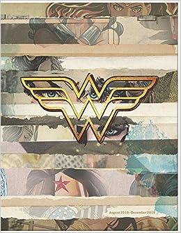 Wonder Woman 2019 Monthly Planner por Trends International