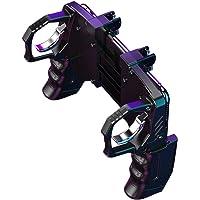 4 Finger Linkage Spel Handtag Peace Elite Fast Shooting Knappkontroll, Mobil Kontroll, Mobil Spel Trigger Joystick för…