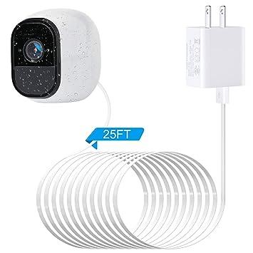 Amazon.com: Arlo - Cargador con cable USB resistente a la ...