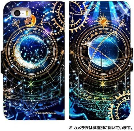 [AQUOS R5G SHG01] ケース アクオスアール 5g ファイブジー shg01/sh-51a カバー 手帳型 スマホケース おしゃれ 0170-B. 時計仕掛けマジック スマートフォン ケータイ 携帯 カバーケース 手帳 人気