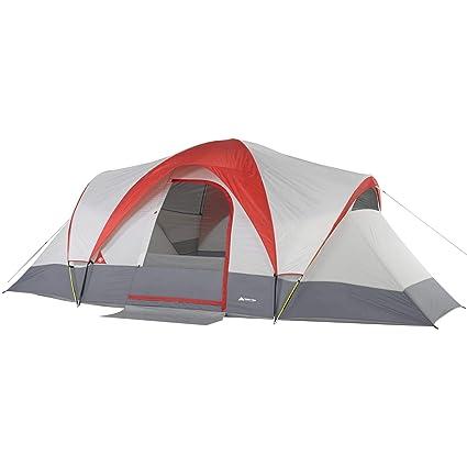 Amazon com : Ozark Trail Weatherbuster 18' x 10' Dome Tent