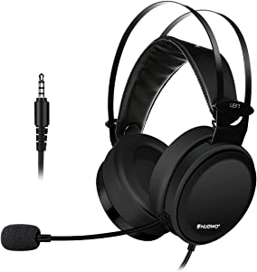 Gaming Headsets, ELEGIANT Xbox PS4 Gaming Headphones with Noise-Cancelling Mic PC Computer Headphones, Soft/Lightweight Design Over-Ear Gaming Headset Compatible with Nintendo Switch PS4 Xbox PC Mac