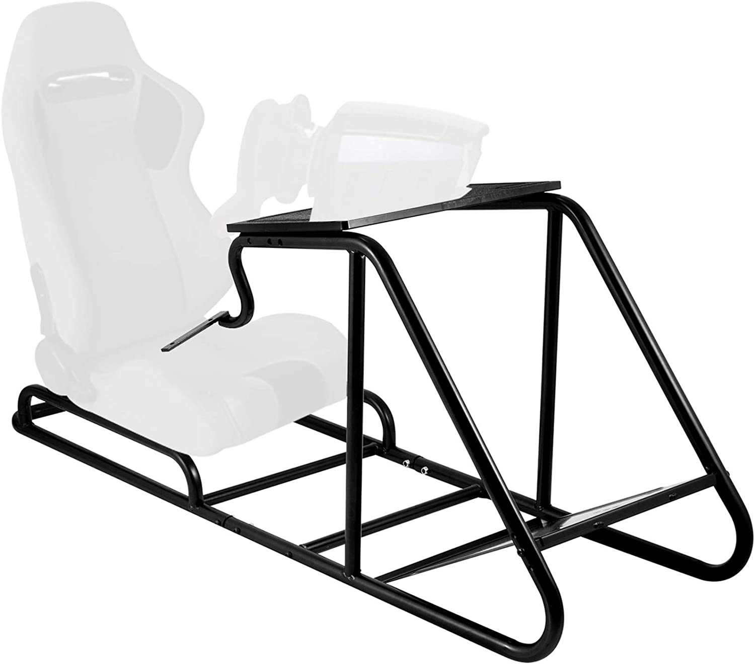 VEVOR Racing Simulator Stand Adjustable Steering Wheel Stand Carbon Steel Racing Wheel Stand fit for Logitech G25, G27, G29, G920, Racing Wheel Gaming Stand, Not Included Wheel,Pedals and Chair