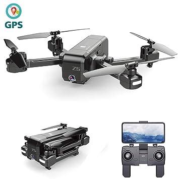 MY-COSE Dron GPS Dual, WiFi PVF 720P 120 ° Gran Angular Z5 ...