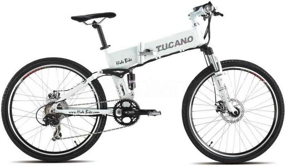 TUCANO Hide Bike MTB - Bicicleta eléctrica deportiva (Motor 250W ...