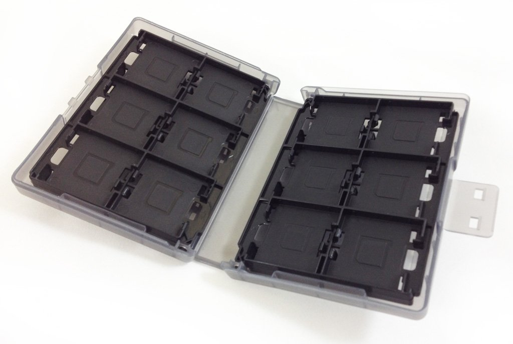 Nintendo 3DS Game Card Case 24 - Black by Hori (Image #1)